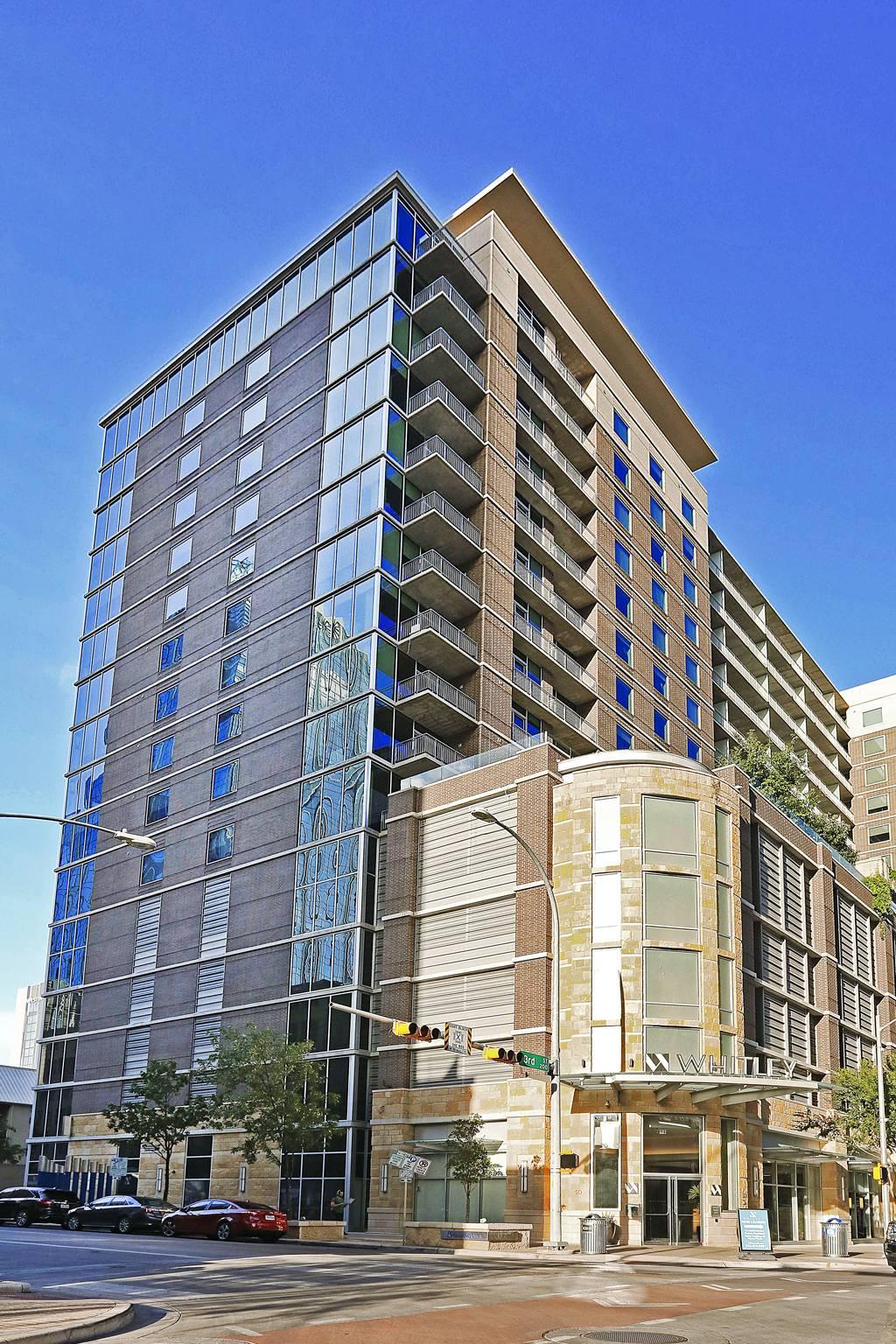 Whitley Apartments at 301  Brazos St, Austin, TX 78701
