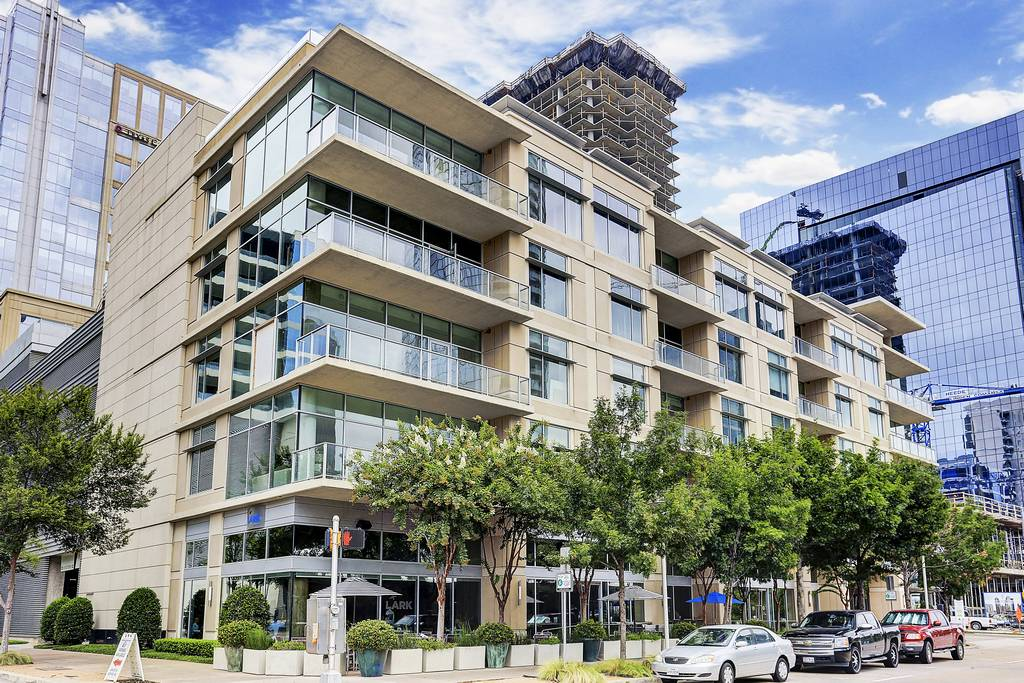Parkside Condos at 2025  Woodall Rodgers Fwy, Dallas, TX 75201