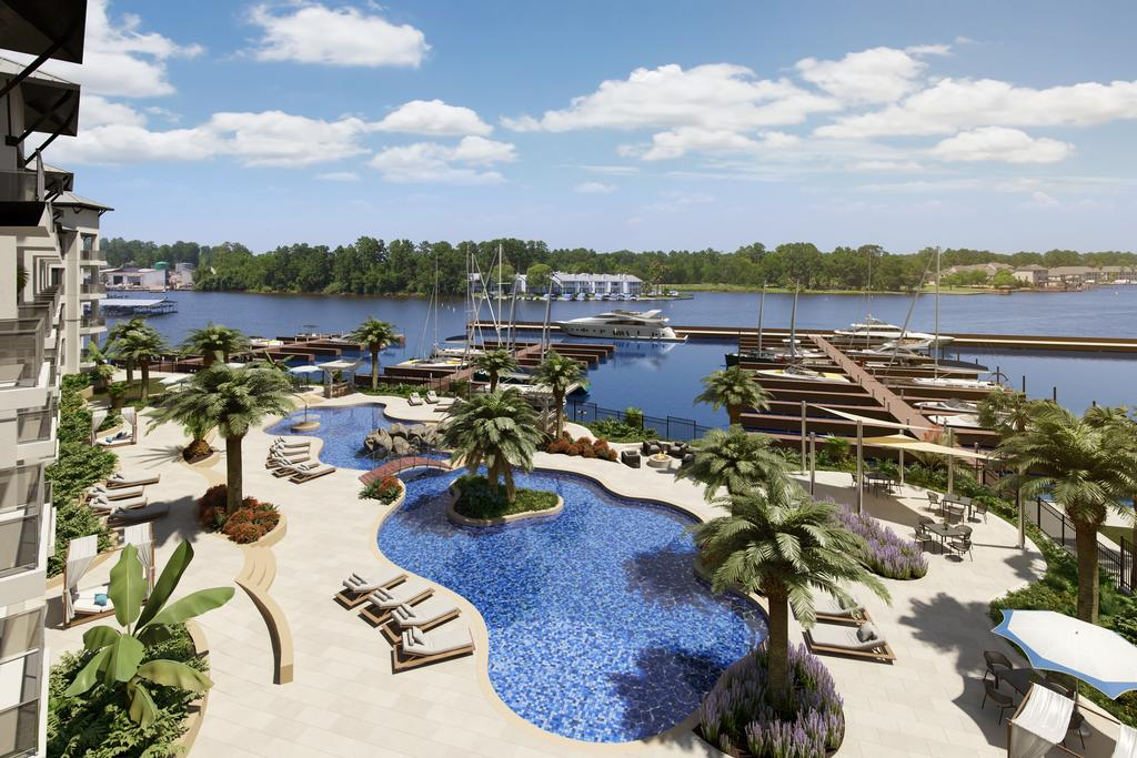 The Shoreline at Waterpoint at 15300 Hwy 105 W, Montgomery, TX 77356